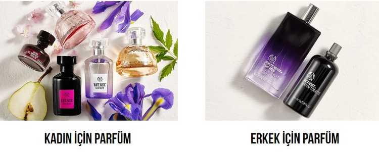 the body shop parfümler